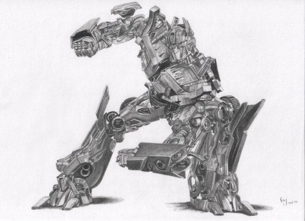 Transformers par Pencil2Paper